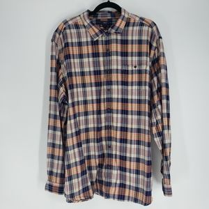 Gap Classic Fit Button Up Plaid Shirt - Size XXL